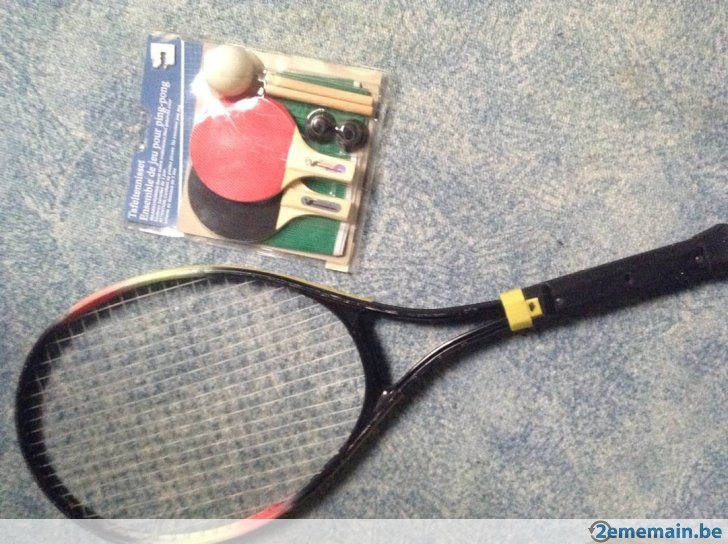 471087364 1 raquettes ping pong et raquette tennis